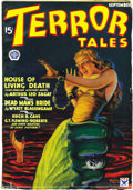 Pulps:Horror, Terror Tales Group (Popular, 1934) Condition: Average FN. This lotconsists of the following issues: September 1934 (#1), Oc...(Total: 3 Items)