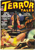 Pulps:Horror, Terror Tales Group (Popular, 1935-38) Condition: Average FN. Thisgroup of exceptionally nice horror pulps includes the issu...(Total: 6 Items)