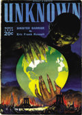 Pulps:Horror, Unknown/Unknown Worlds Group (Street & Smith, 1939-43)Condition: Average VG+. This large group includes issues datedMarch ... (Total: 40 Items)