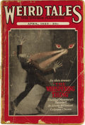 Pulps:Horror, Weird Tales April 1923 (Popular Fiction, 1923) Condition: Apparent GD. The second issue of this seminal title, Bookery's G...