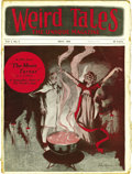 Pulps:Horror, Weird Tales May 1923 (Popular Fiction, 1923) Condition: FR. Here isthe very first bedsheet-format edition of Weird Tales...