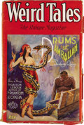 Pulps:Horror, Weird Tales Group (Popular Fiction, 1929-30) Condition: AverageGD/VG. This group includes a complete run of 10 monthly issu...(Total: 10 Items)