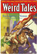 Pulps:Horror, Weird Tales Group (Popular Fiction, 1932-33) Condition: AverageVG/FN. July 1932, August 1932, September 1932, October 1932,...(Total: 8 Items)