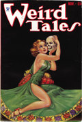 Pulps:Horror, Weird Tales Group (Popular Fiction, 1933-34). This group containsissues dated November 1933 (FN), January 1934 (classic cov...(Total: 6 Items)