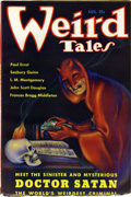 Pulps:Horror, Weird Tales Group (Popular Fiction, 1935) Condition: Average FN+. These pulps are so nice, it's almost weird.... Here ar... (Total: 6 Items)