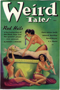 Pulps:Horror, Weird Tales Group (Popular Fiction, 1935-36) Condition: Average FN+. Another group of incredibly high-grade pulps. This lot ... (Total: 7 Items)