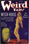 Pulps:Horror, Weird Tales Group (Popular Fiction, 1936-37). This high-grade group consists of issues dated August-September 1936 (FN/VF), ... (Total: 7 Items)