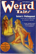 Pulps:Horror, Weird Tales Group (Popular Fiction, 1937-38) Condition: Average FN. ... (Total: 7 Items)