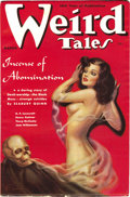 Pulps:Horror, Weird Tales Group (Popular Fiction, 1938-39) Condition: AverageVG/FN. February 1938, March 1938, April 1938, May 1938, June...(Total: 12 Items)