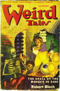 Pulps:Horror, Weird Tales Group (Popular Fiction, 1945-73) Condition: Average GD/VG. This is a large group of lower-grade, later, issues o... (Total: 38 Items)
