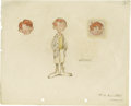 Animation Art:Production Drawing, F. H. Horvath - Concept Drawing Animation Art, Group of 3 (Disney,circa 1935). This delightful group of sketches was create...(Total: 3 Items)