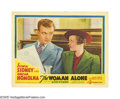 """Movie Posters:Drama, The Woman Alone (Gaumont British, 1937). Lobby Card (11"""" X 14"""").This film, known as """"Sabotage"""" in its British release, was ..."""
