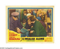 "Movie Posters:Drama, The Woman Alone (Gaumont British, 1937). Lobby Cards (2) (11"" X14""). Oscar Homolka was perfectly cast as a London saboteur ... (2Items)"