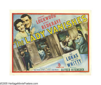"""The Lady Vanishes (Gaumont British, 1938). Title Lobby Card (11"""" X 14""""). This title card to one of Alfred Hitc..."""