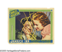 """Jamaica Inn (Paramount, 1939). Lobby Cards (4) (11"""" X 14""""). Charles Laughton produced and stars in this Alfred..."""