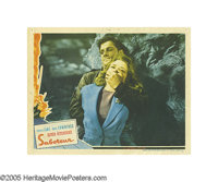 "Saboteur (Universal, 1942). Lobby Card (4) (11"" X 14""). Robert Cummings and Priscilla Lane star in this Hitchc..."