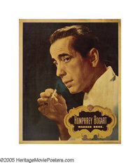 "Humphrey Bogart Personality Poster (Warner Brothers, 1948). (14"" X 17""). Over the years, studios would promote..."