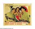 "Movie Posters:Comedy, Women of All Nations (Fox, 1931). Half Sheet (22"" X 28""). Boys willby boys, and both Edmund Lowe and Victor McLaglen play t..."