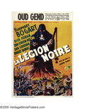 "Movie Posters:Crime, Black Legion (Warner Brothers, 1937). Pre-War Belgian (24"" X 33"").This large Belgian poster uses a design far superior to t..."