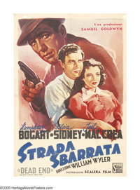 """Dead End (United Artists, 1948 Post-War Release). Italian One Sheet (27"""" X 39""""). Although the film was release..."""