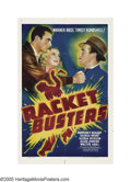 "Movie Posters:Crime, Racket Busters (Warner Brothers, 1938). One Sheet (27"" X 41""). Whenthe headlines in New York City screamed that the mob was..."