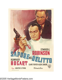 """The Amazing Dr. Clitterhouse (Warner Brothers, 1947 Post-War Release). Italian (39"""" X 55""""). This was the first..."""