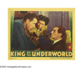 "Movie Posters:Crime, King of the Underworld (Warner Brothers, 1939). Lobby Card (11"" X 14""). Humphrey Bogart stars as a gangster on the lam when ..."