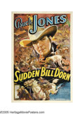 "Movie Posters:Western, Sudden Bill Dorn (Universal, 1937). One Sheet (27"" X 41""). Ifyou're looking for the best poster ever created for this legen..."