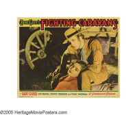 "Fighting Caravans (Paramount, 1931). Lobby Cards (4) (11"" X 14""). In Zane Grey's Civil War Era Western, Gary C..."