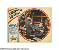 "A Farewell To Arms (Paramount, 1932). Lobby Cards (3) (11"" X 14""). This adaptation of Ernest Hemingway's class..."