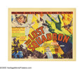 "Movie Posters:Drama, The Lost Squadron (RKO, 1932). Title Lobby Card (11"" X 14""). Thispicture was way ahead of its time in terms of the social c..."