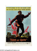 """Movie Posters:War, Paths of Glory (United Artists, 1958). One Sheet (27"""" X 41"""".)Director Stanley Kubrick was very outspoken about the futility..."""