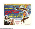 "Movie Posters:War, Spitfire (RKO, 1942). Half Sheet (22"" X 28""). Released in the U.K.in 1942 as ""The First of the Few,"" this film was retitled..."