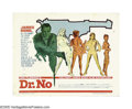 "Movie Posters:Action, Dr. No (United Artists, 1962). Half Sheet (22"" X 28""). The numberof people who claim to have attended Woodstock only slight..."