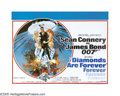 """Movie Posters:Action, Diamonds Are Forever (United Artists, 1971). British Quad (30"""" X40""""). This return of James Bond also meant the return of Se..."""