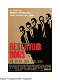 """Reservoir Dogs (Miramax, 1992). One Sheet (27"""" X 40""""). Before giving hope to video store clerks everywhere, th..."""