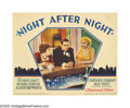 """Movie Posters:Drama, Night After Night (Paramount, 1932). Lobby Card (11"""" X 14""""). George Raft hires Alison Skipworth to help him hone his social ..."""
