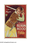 "Movie Posters:Adventure, The Adventures of Robin Hood (Warner Brothers, 1938). ArgentinianOne Sheet (27"" X 41""). This is one of the greatest swashbu..."