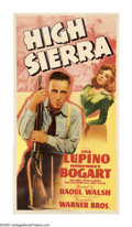 "Movie Posters:Crime, High Sierra (Warner Brothers, 1941). Three Sheet (41"" X 81""). Okay,the hype is not overstated when we say that this is trul..."