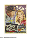 "Movie Posters:Romance, To Have and To Have Not (Warner Brothers, 1944). Post-War Belgian(11"" X 14""). Spectacular portraits adorn this Belgian post..."