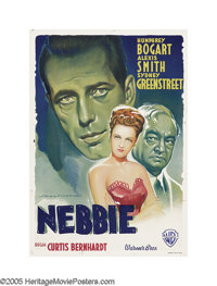 "Conflict (Warner Brothers, 1945). Italian One Sheet (27"" X 39""). Italian artist Martinati painted this stunnin..."