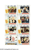 """Movie Posters:Comedy, The Girl Can't Help It (20th Century Fox, 1956). Lobby Card Set of8 (11"""" X 14""""). Perhaps the greatest combination of old-st... (8items)"""