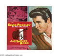 "Movie Posters:Elvis Presley, Jailhouse Rock (MGM, 1957). Six Sheet (81"" X 81""). Regarded as oneof Elvis Presley's best films, this musical presents Pres..."