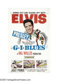 """Movie Posters:Elvis Presley, G.I. Blues (Paramount, 1960). One Sheet (27"""" X 41""""). Elvis Presley stars as Tulsa McLean, a young soldier who desires to be ..."""
