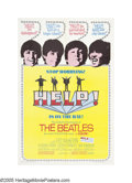 "Movie Posters:Musical, Help (United Artists, 1965). One Sheet (27"" X 41""). In their secondcollaboration with director Richard Lester, the Beatles ..."