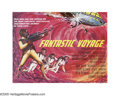 """Movie Posters:Science Fiction, Fantastic Voyage (20th Century Fox, 1966). British Quad (30"""" X40""""). A group of scientists have 24 hours to surgically remov..."""