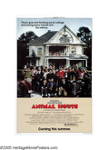 "Movie Posters:Comedy, Animal House (Universal, 1978). One Sheet (27"" X 41"") Advance. JohnLandis' frat-house film ushered in a wave of R-rated gro..."