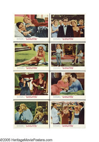"""Lolita (MGM, 1962). Lobby Card Set of 8 (11"""" X 14""""). Most authors bristle at the changes that befall their wor..."""