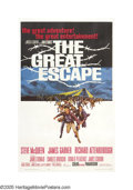 "Movie Posters:Adventure, The Great Escape (United Artists, 1963). One Sheet (27"" X 41""). ""Wehave in effect put all our rotten eggs in one basket. An..."