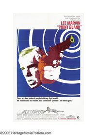 "Point Blank (MGM, 1967). One Sheet (27"" X 41""). This throbbing revenge film celebrates the revolutionary spiri..."